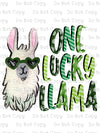 One Lucky Llama #SB- 512 - HEAT TRANSFER