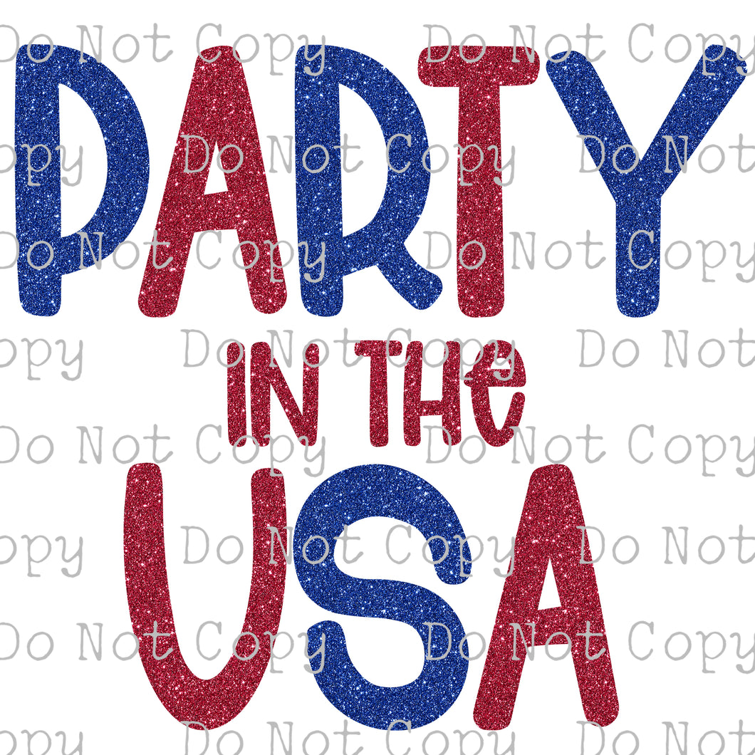 Party in the USA #SB- 516 - HEAT TRANSFER