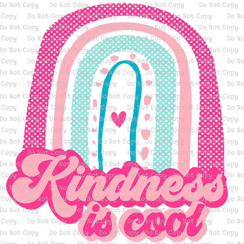 Kindness is Cool #SB-620 - HEAT TRANSFER