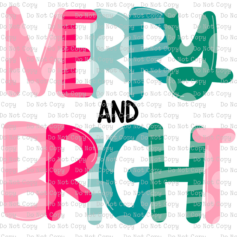 Merry and Bright #SB-627 - HEAT TRANSFER