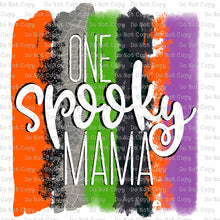 One Spooky Mama #SB-656 - HEAT TRANSFER