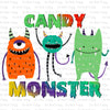 Candy Monster #SB-733 - HEAT TRANSFER