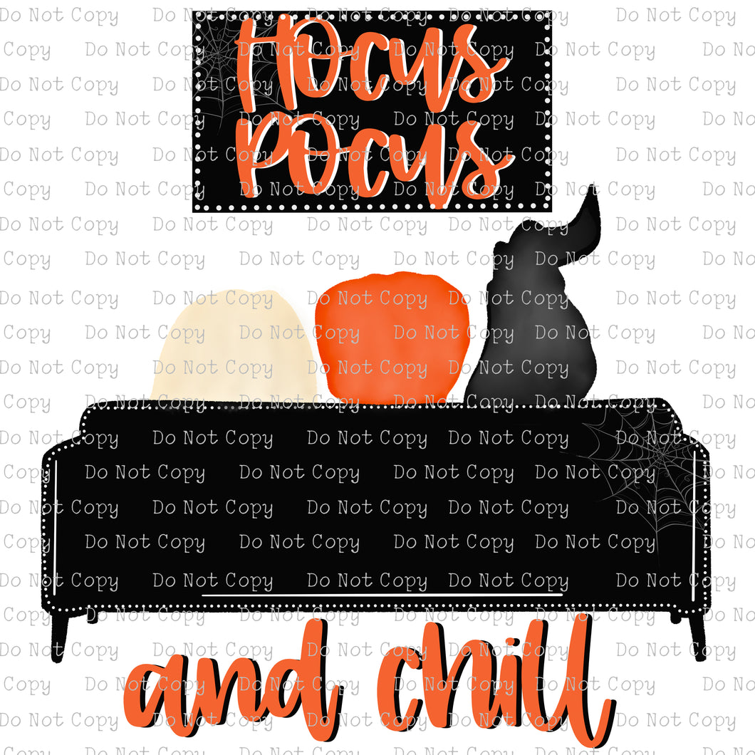 Hocus Pocus & Chill #SB-772 - HEAT TRANSFER