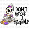 I Don't Spook #SB-775 - HEAT TRANSFER