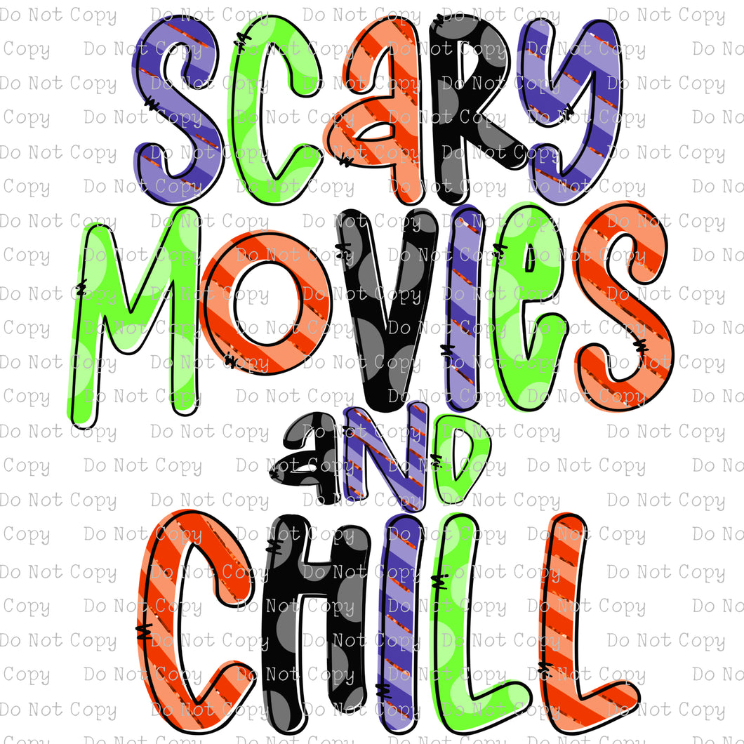 Scary Movies and Chill #SB-837 - HEAT TRANSFER