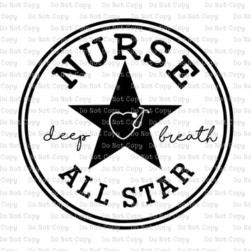 Nurse All Star #SP104 - SUBLIMATION