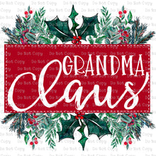 Grandma Claus #SB-917 - HEAT TRANSFER