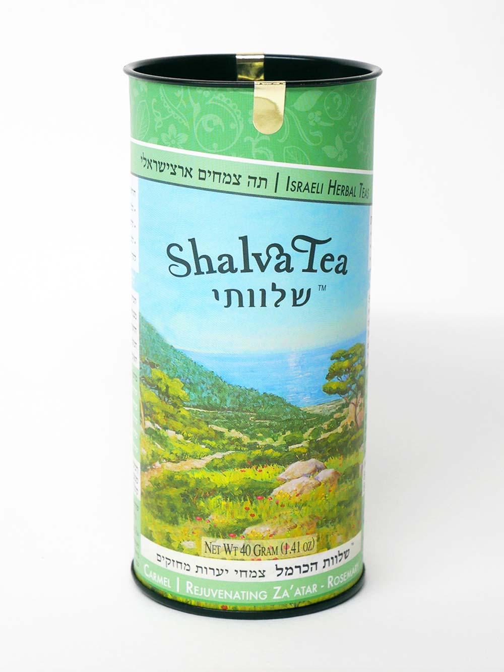 Rejuvenating Za'atar-Rosemary | Carmel Blend (20 Teabags) - ShalvaTea Kosher Israeli Herbal Teas