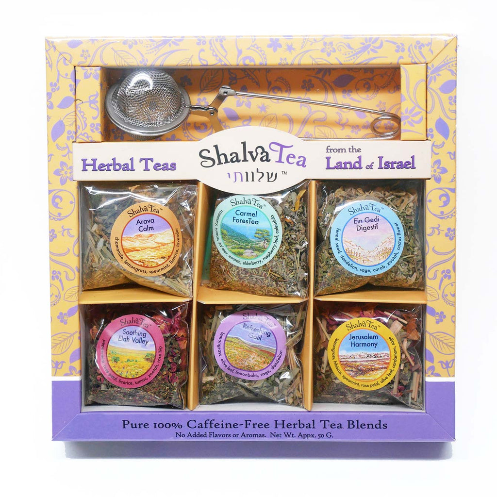 Shalva Tea Sampler Gift Pack