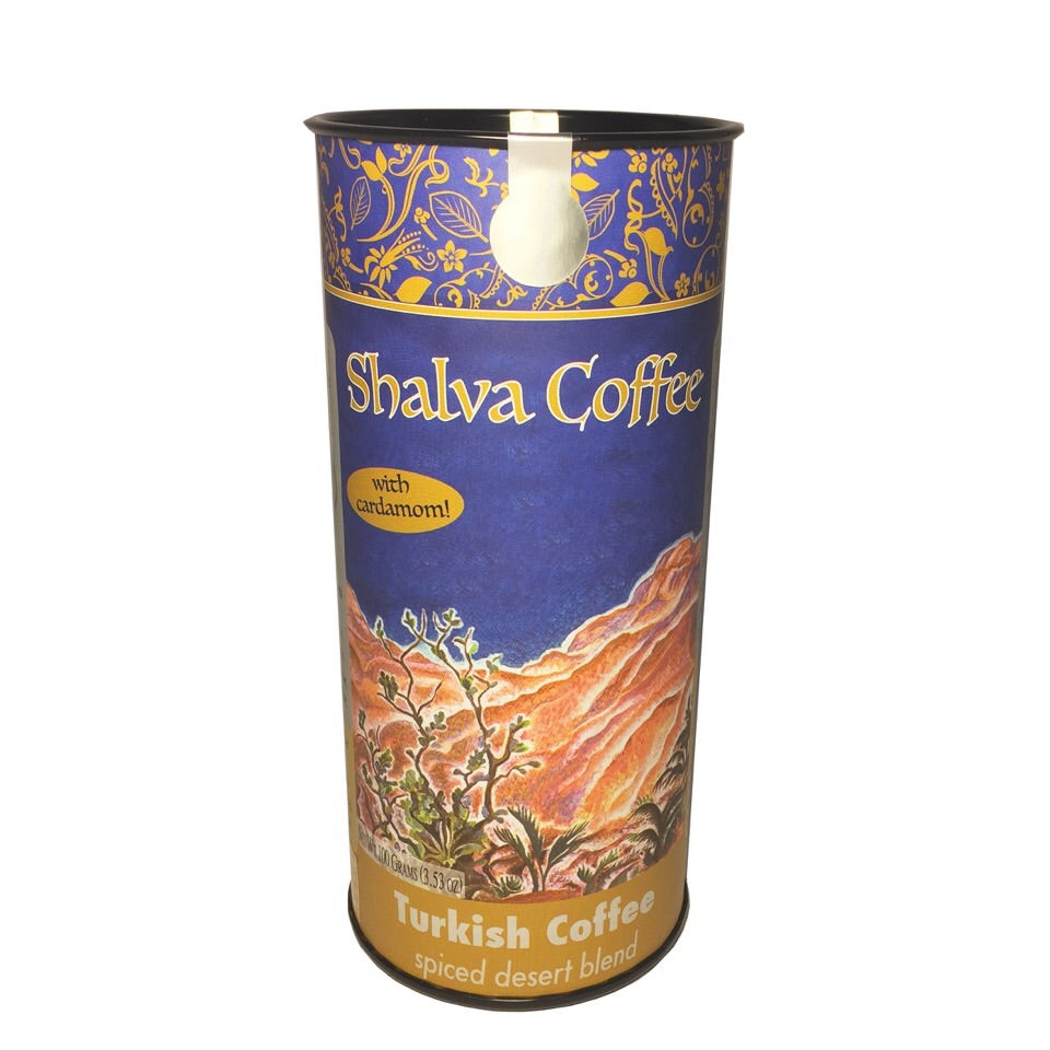 Shalva Coffee, Spiced Blend (Turkish Ground)
