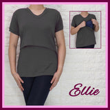 Ellie VNeck Nursing Top