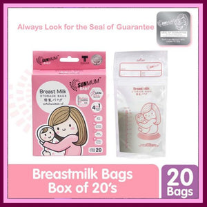 Sunmum Breastmilk Bag 8oz Box of 20s