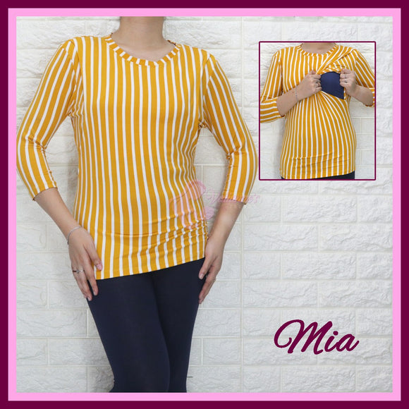 Mia Nursing Blouse - Breastfeeding