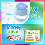 UltraFresh Diapers Set of 30s