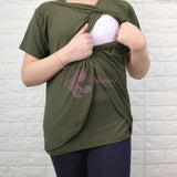 Bella Nursing Top - Breastfeeding Maternity Postpartum