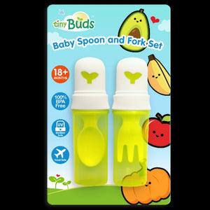 Tiny Buds Spoon and Fork Set