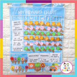 Valiant Toddlers Educational Felt Charts