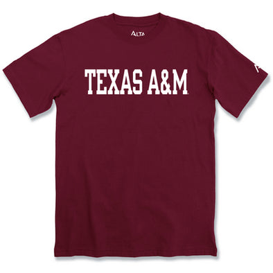 Texas A&M Alta Gracia Rolled Tee