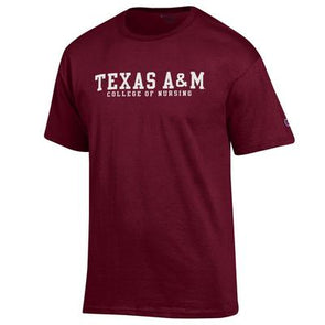Texas A&M Champion College of Nursing Tee