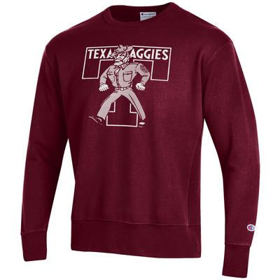 Texas A&M Champion Rochester Fleece Crew