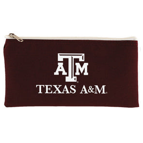 Texas A&M Maroon Pencil Case