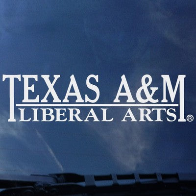 Texas A&M Liberal Arts Decal