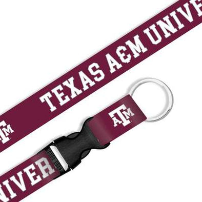 Texas A&M Sublimated Lanyard with Buckle