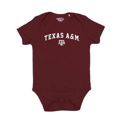 Texas A&M Garb Infant Short Sleeve Onesie