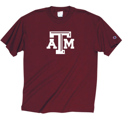 Texas A&M Champion ATM Jersey T-Shirt - Maroon