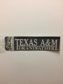 Texas A&M Grandfather Decal