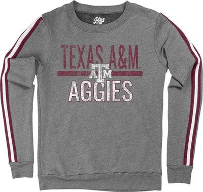 Texas A&M Blue 84 Women's Varsity Rib Crew