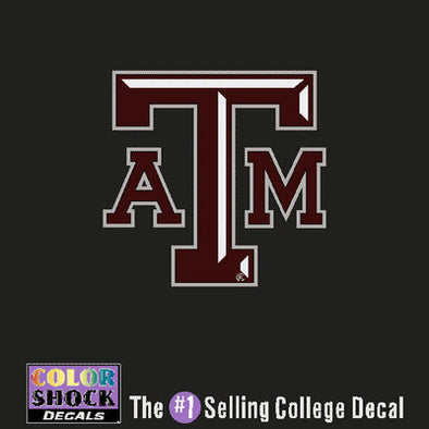 Small Block ATM Decal