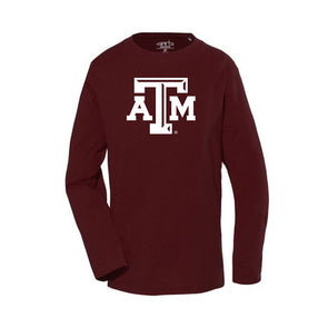 Texas A&M Garb Toddler Long Sleeve T Shirt