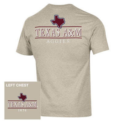 TEXAS A&M AGGIES CHAMPION JERSEY T-SHIRT