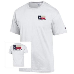 Texas A&M University Texas Flag Aggies Champion Jersey Tee