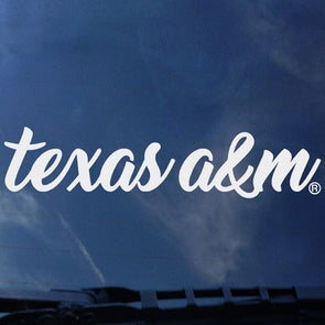 Texas A&M Decal