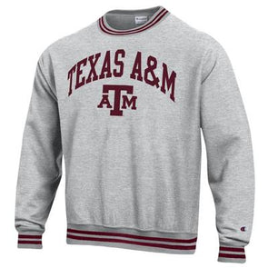 Texas A&M Champion Reverse Weave Crew