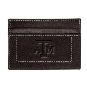 Texas A&M Brown Card Holder