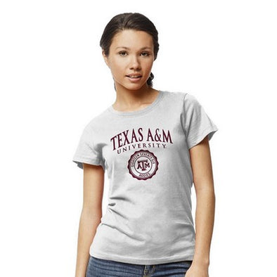 Texas A&M League White Freshy Tee