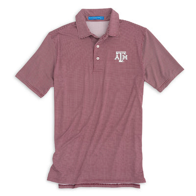 TEXAS A&M SOUTHERN TIDE GAMEDAY TATTERSALL PERFORMANCE POLO
