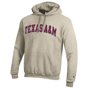 Texas A&M Champion Hood - Oatmeal