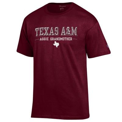 Texas A&M Champion Aggie Grandmother Tee