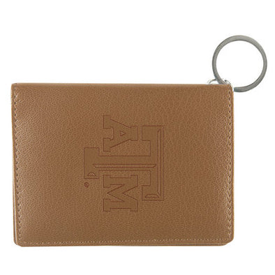 Texas A&M Tan Leather ID Holder