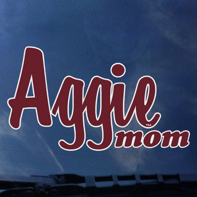 Texas A&M Aggie Mom Decal