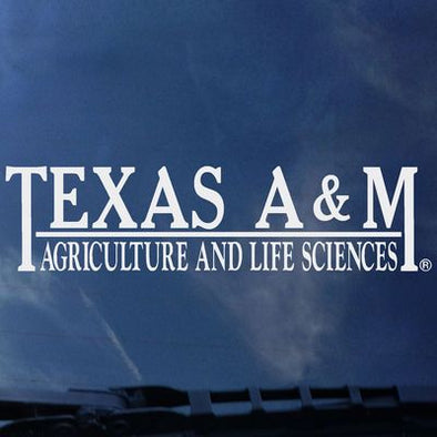 Texas A&M Agriculture and Life Sciences Color Shock Decal