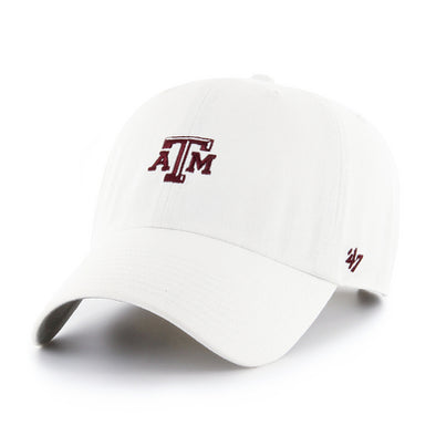 Texas A&M White 47 Brand Clean Up ATM Hat