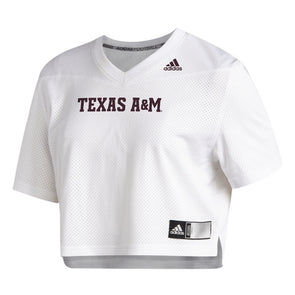 Texas A&M Adidas 2020 Women's Crop Jersey