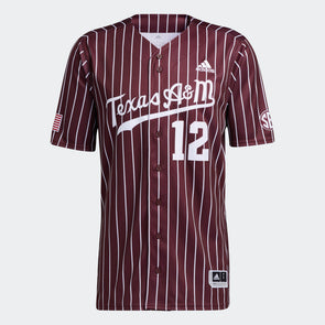 Texas A&M Replica Baseball Jersey - Maroon