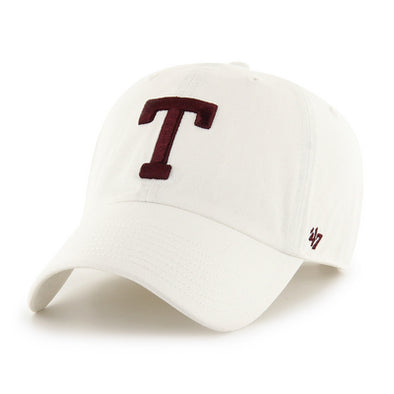 Texas A&M 47 Brand White T Clean Up Hat
