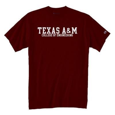 Texas A&M Champion College of Engineering Tee